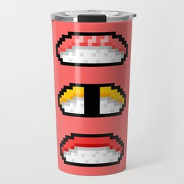 Pixel Nigiri Sushi Travel Mug