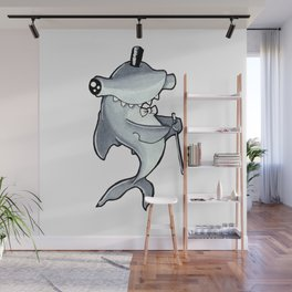 PSC Hammerhead Shark Wall Mural