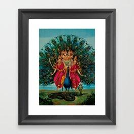 Hindu Art Framed Art Print