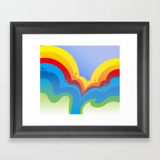 Rainbowmatic Framed Art Print