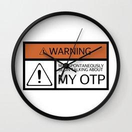 WARNING: OTP Wall Clock