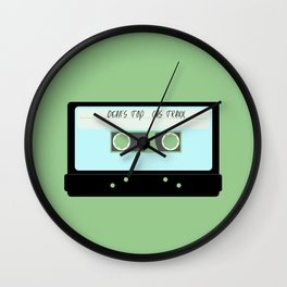 Dean's Top Cas Traxx - Minimal Wall Clock
