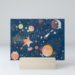 Painted Space Mini Art Print