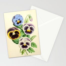 Andrews, James (1801-1876) - The Floral Magazine 1869 - Pansies Stationery Cards