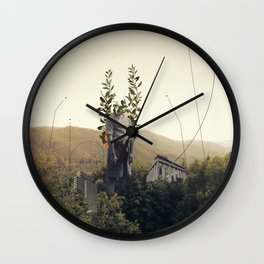 Forest Angel Wall Clock