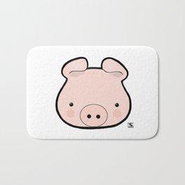 Piggy Kawaii Bath Mat