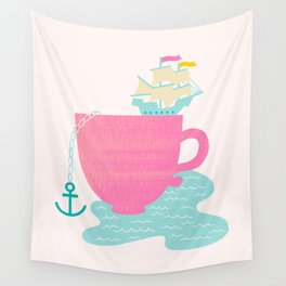 Cup of Sea Wall Tapestry