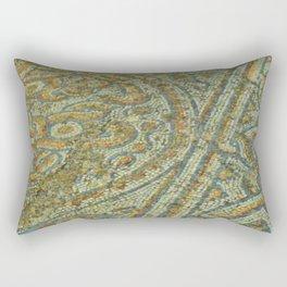 Mosaic road, Ephesus, Turkey Rectangular Pillow