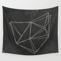 geo Wall Tapestries featuring Geo by Last Call