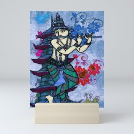 Krishna Rising Mini Art Print