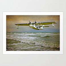 Catalina Flying Boat Art Print