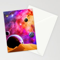 Space Solitude Stationery Cards