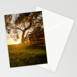 The door to a new tomorrow Stationery Cards