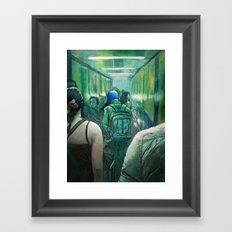 A Strange Quiet Framed Art Print