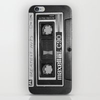 tape iPhone & iPod Skins featuring Tape by RMK Photography