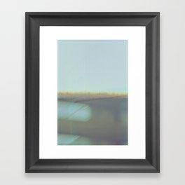 false horizon Framed Art Print