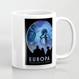 Europa - NASA Space Travel Poster Coffee Mug