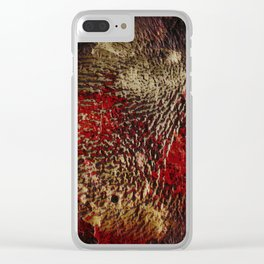 Gold Mine! Clear iPhone Case