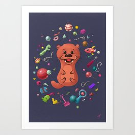 You Otta Play With Me Art Print