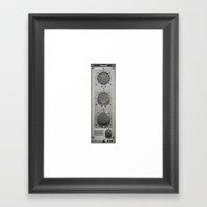 BasiQ knob Framed Art Print