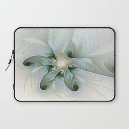 Come to me, Fantasy Fracta Art Laptop Sleeve