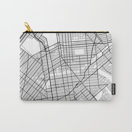Brooklyn New York Street Map Minimal Carry-All Pouch