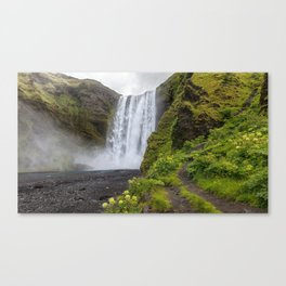 Skogafoss Iceland Ultra HD Canvas Print
