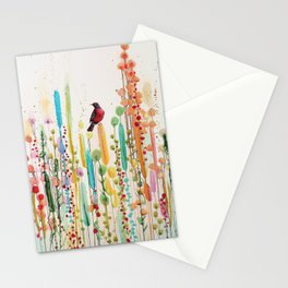 toujours le jour se leve Stationery Cards
