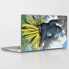 Monster on Oblique Dandelion Laptop & iPad Skin