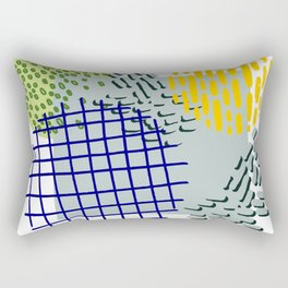Pattern 001 - La Natureza Rectangular Pillow