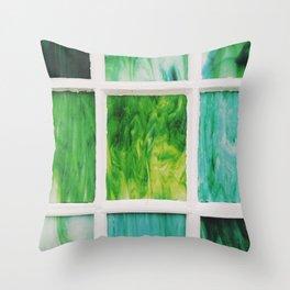 Color Windows No. 2 Throw Pillow