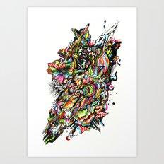 mole01 Art Print