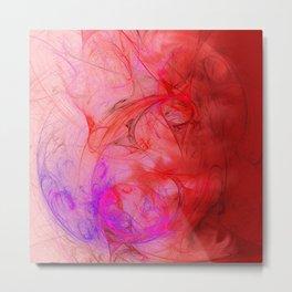Flowing color Metal Print