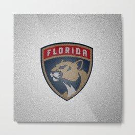 Panthers Logo Metal Print