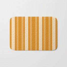 Marigold Victorian Lady Stripe Bath Mat