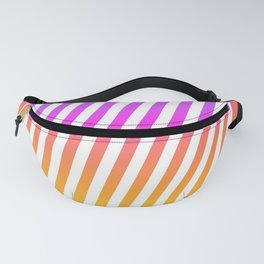 abstract lines mockup oblique Fanny Pack
