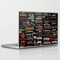 heavy metal Laptop & iPad Skins featuring Heavy Metal Ezmaya by ezmaya