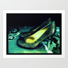 Shoes - Louboutin VI Art Print