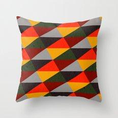 Ternion Series: Wintertide Carnival Motif Throw Pillow