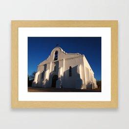 San Elizario Presidio Church, El Paso Framed Art Print