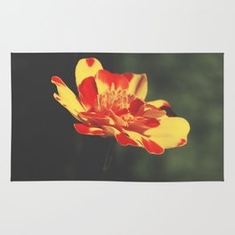 Lonely flower Rug