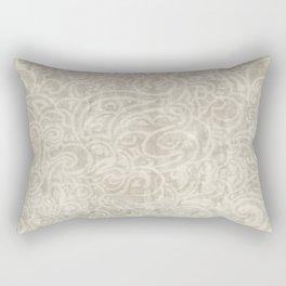 Billowing - Aged Ivory Rectangular Pillow