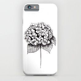 Hydrangea Flower iPhone Case