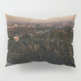 view from the getty Pillow Sham