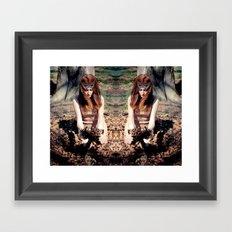 Reflects4 Framed Art Print