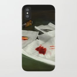 Bullet extraction iPhone Case