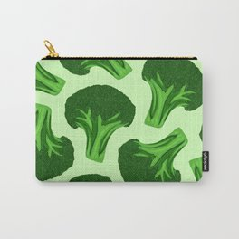 Verdant Broccoli Pattern Carry-All Pouch
