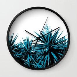 Yucca Trees Wall Clock