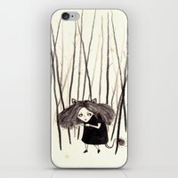 into the wild iPhone & iPod Skins featuring wild by Soju Shots