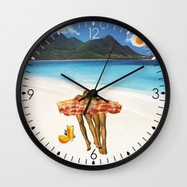Unrequited Fantasies Wall Clock